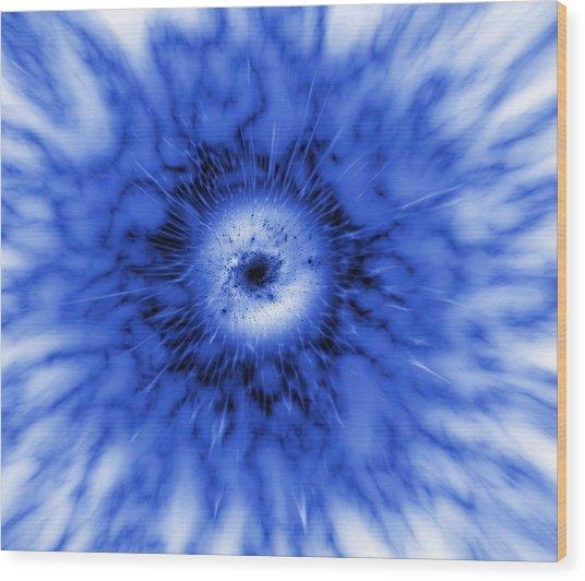 Active Galaxy, Artwork Wood Print by Mehau Kulyk