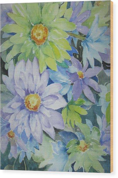 Amy's Bouquet Wood Print