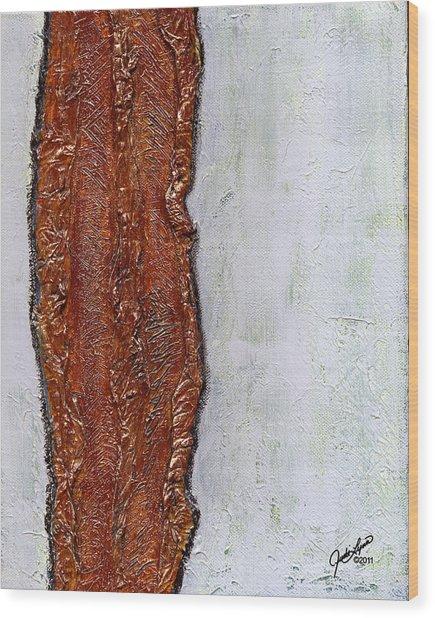 Angst Wood Print