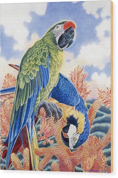 Astarte's Paradise II Wood Print