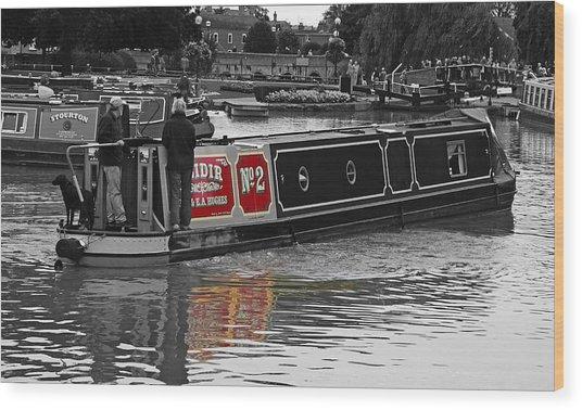 Avon Riverboat Wood Print