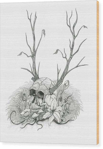 Bad Seed Wood Print by Jeff Gould