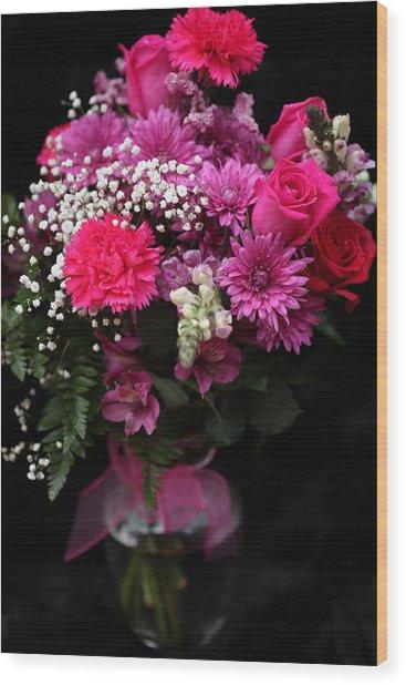 Bouquet Of Love 2 Wood Print