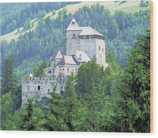Burg Reifenstein Sterzing Italy Wood Print by Joseph Hendrix