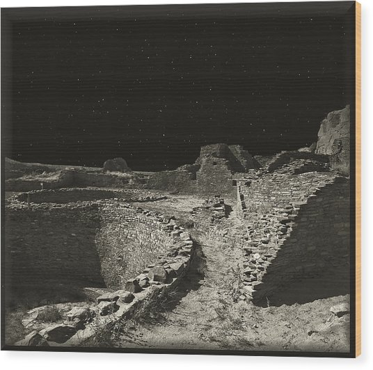 Chaco Canyon Wood Print