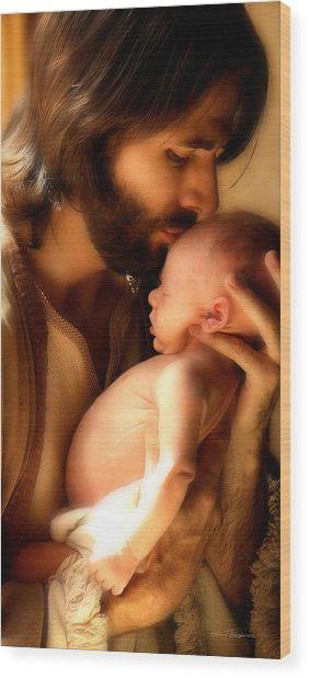 Child Of God Wood Print
