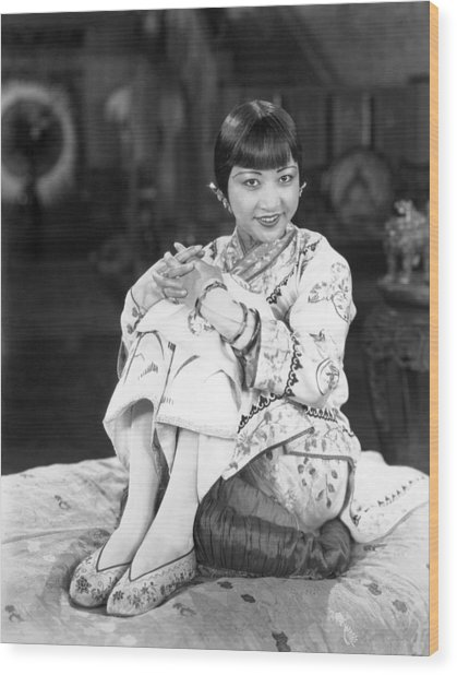 Chinatown Charlie, Anna May Wong, 1928 Wood Print by Everett
