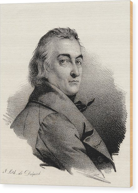 Claude Louis Berthollet, French Chemist Wood Print by