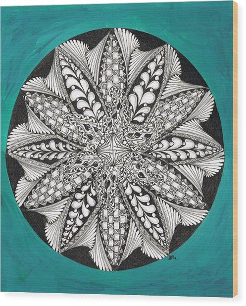 Completed Zen Wood Print