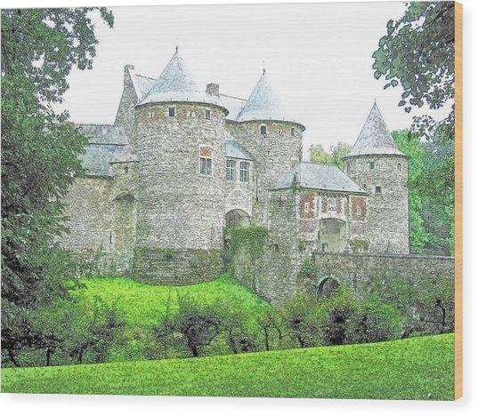 Corroy Le Chateau  Gembloux Belgium Wood Print by Joseph Hendrix