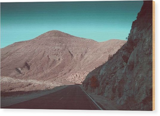 Death Valley Road 2 Wood Print