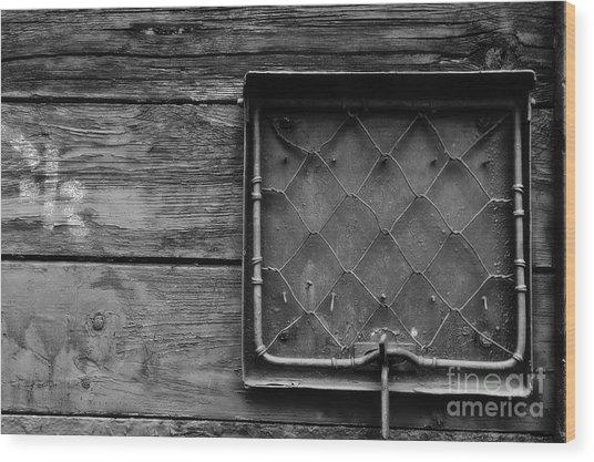 Destination Box Wood Print