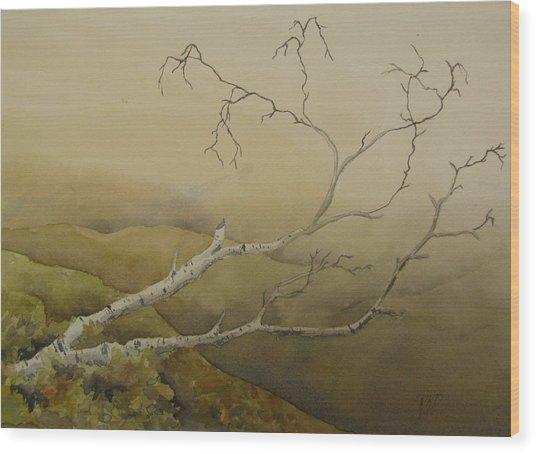 Fallen Wood Print by Ramona Kraemer-Dobson