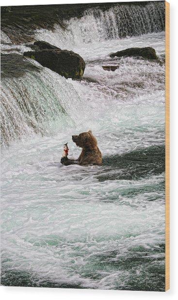 Fishing-5 Wood Print