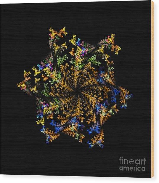 Fractal Wood Print