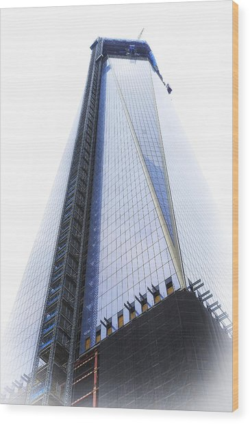Freedom Tower Wood Print by Vicki Jauron