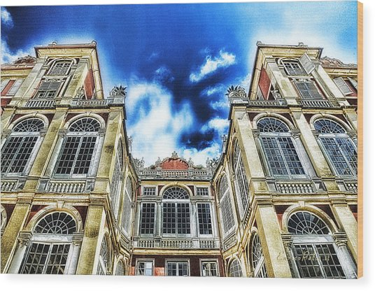 Genova Palazzo Reale - Royal Palace Of Palazzo Dei Rolli Wood Print by Enrico Pelos