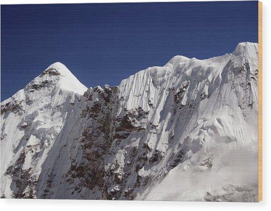 Himalayan Landscape Wood Print by Pal Teravagimov Photography