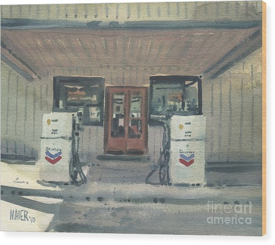 Jimtown Store Wood Print by Donald Maier