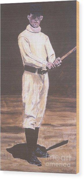 John Mcgraw Wood Print by Ralph LeCompte