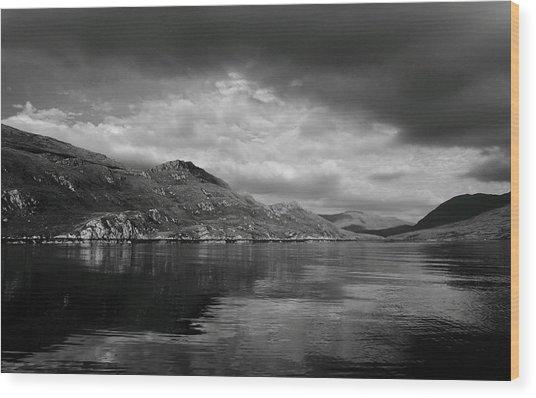 Killary Harbour Wood Print
