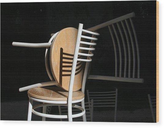 Light And Shadow Wood Print by Adeeb Atwan