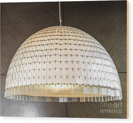 Light Semi-circle. Wood Print by Chavalit Kamolthamanon