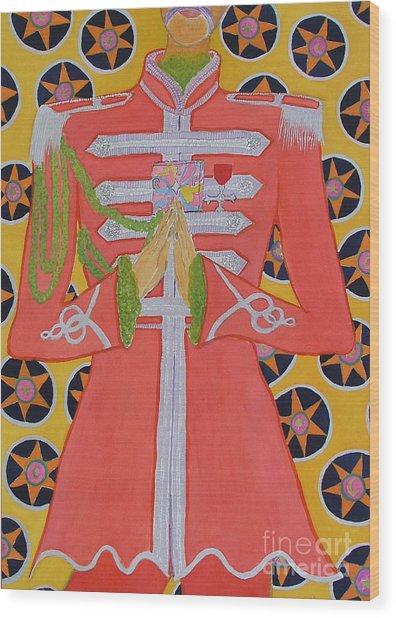 Lonely Hearts Club Member George Wood Print by Barbara Nolan