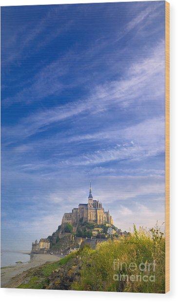 Mont-saint-michel France Wood Print