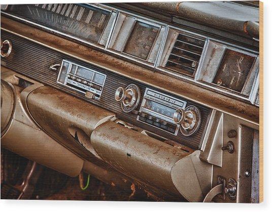 Oldsmobile Wood Print by Richard Steinberger
