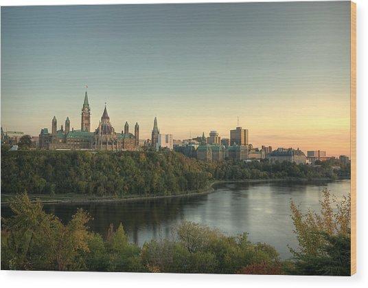 Ottawa Wood Print