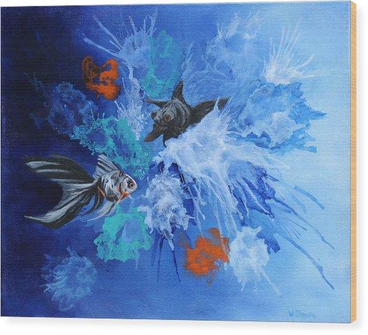 Richies Fish Wood Print