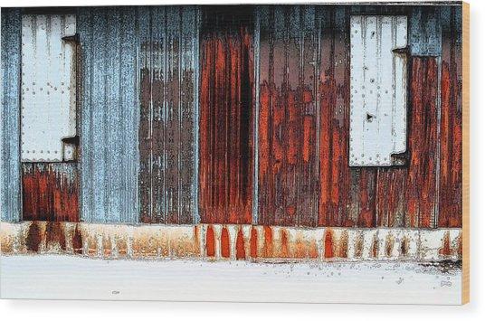 Rust R' Us Wood Print