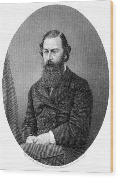 Samuel Baker, British Explorer Wood Print by