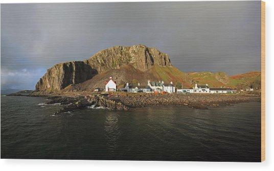 Seil Island Wood Print