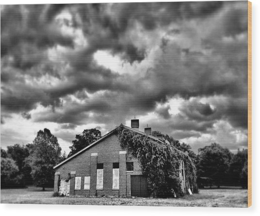 Stormy Monday #1 Wood Print by John Derby