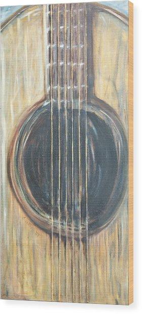 Strings Acoustic Sound Wood Print