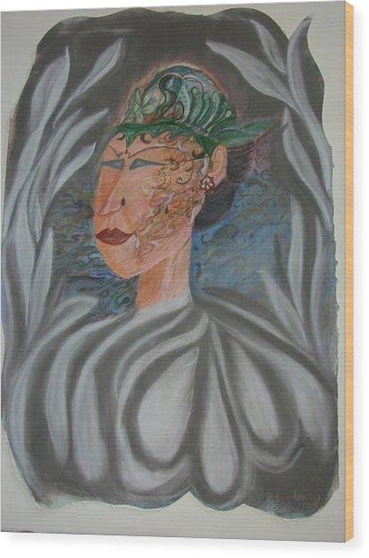 Tattoo You Wood Print by Marian Hebert
