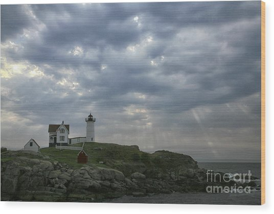 The Nubble Wood Print