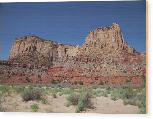 San Rafael Swell Wood Print by Southern Utah  Photography