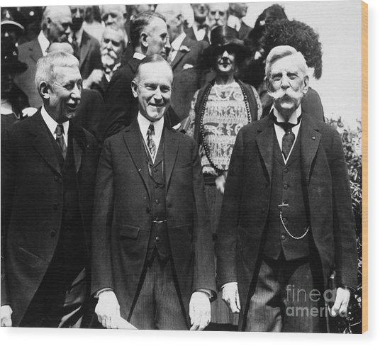 Calvin Coolidge (1872-1933) Wood Print