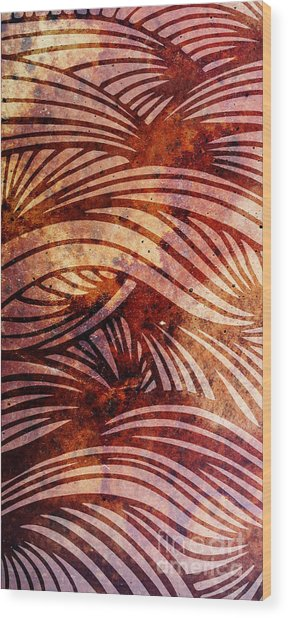 Abstract Wood Print by HD Connelly