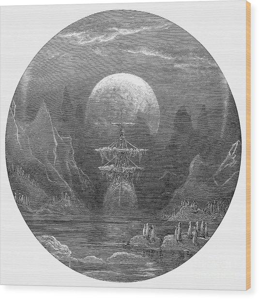 Ancient Mariner Wood Print