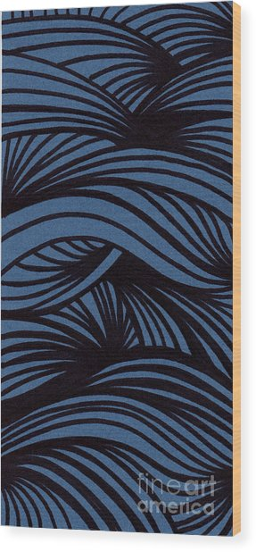 Abstract Wood Print