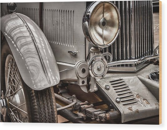 1935 Aston Martin Wood Print