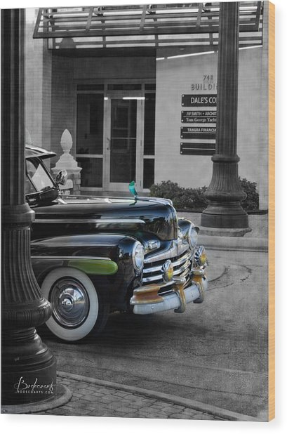 1940s Ford Out Of The Past Wood Print