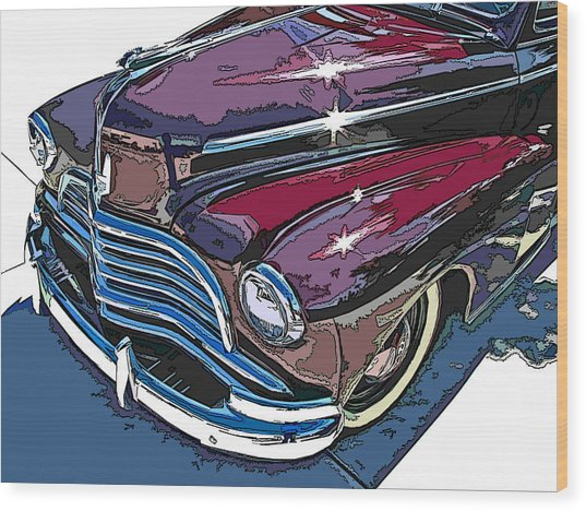 1946 Chevrolet Front Study Wood Print