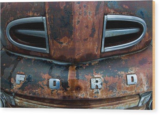 1948 Ford Wood Print