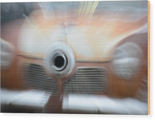 1951 Studebaker Abstract Wood Print