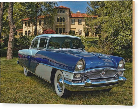 1955 Packard Clipper Wood Print by Tim McCullough